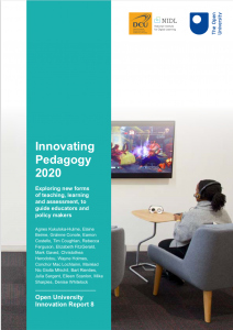 Cover of Innovating Pedagogy report