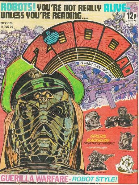 The tech futures in 2000AD